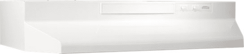 Broan F40000 Series F403611 - Monochromatic White