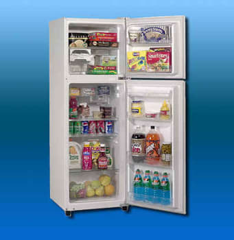 Avanti FF8WR 22 Inch Frost-Free Apartment Size Refrigerator w/ 8.1 ...
