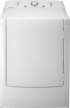 Frigidaire FFRE1001PW - 7.0 Cu. Ft. Front-Load Electric Dryer
