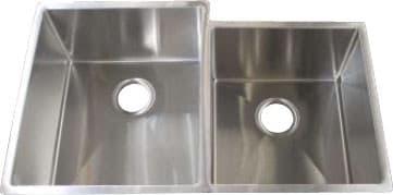 Frigidaire Gallery Series FGUR3320D99 - 18 Gauge 304 Stainless Steel Double Bowl Undermount Sink