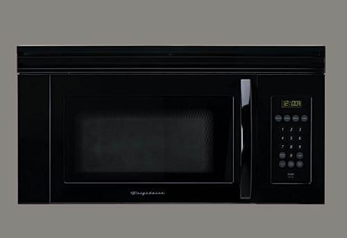 Frigidaire Fmv156db 1 5 Cu Ft Over The Range Microwave