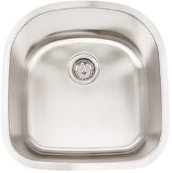 Frigidaire FRG2120D9 - 18 Gauge 304 Stainless Steel Single Bowl Undermount Sink