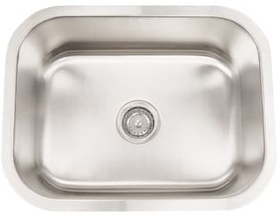 Frigidaire FRG2318D9 - 18 Gauge 304 Stainless Steel Single Bowl Undermount Sink