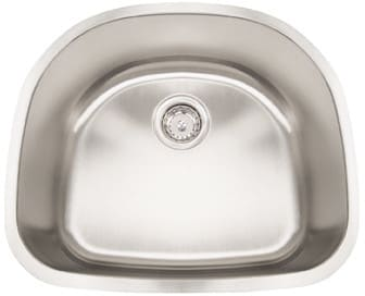 Frigidaire FRG2321D9 - 18 Gauge 304 Stainless Steel Single Bowl Undermount Sink