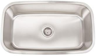 Frigidaire FRG3118D9 - 18 Gauge 304 Stainless Steel Single Bowl Undermount Sink