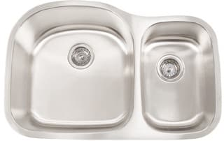 Frigidaire FRG3220D97 - 18 Gauge 304 Stainless Steel Double Bowl Undermount Sink