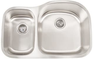 Frigidaire FRG3220D97R - 18 Gauge 304 Stainless Steel Double Bowl Undermount Sink