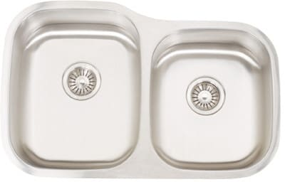 Frigidaire FRG3221D99 - 18 Gauge 304 Stainless Steel Double Bowl Undermount Sink