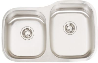 Frigidaire FRG3221D99R - 18 Gauge 304 Stainless Steel Double Bowl Undermount Sink