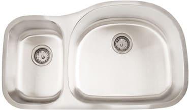 Frigidaire FRG3521D97R - 18 Gauge 304 Stainless Steel Double Bowl Undermount Sink