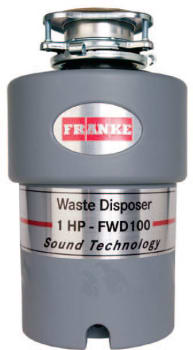 Franke FWD100 - 1 HP Waste Disposer