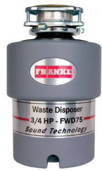 Franke FWD75 - 3/4 HP Waste Disposer