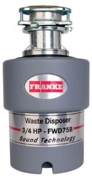 Franke FWD75B - 3/4 HP Batch Feed Waste Disposer