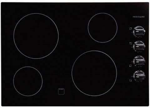 "Frigidaire FFEC3024LB - 30"" Electric Cooktop-Black"