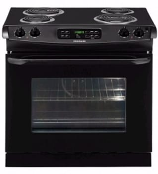 Frigidaire FFED3015L - 30-in. Drop-In Electric Range-Black