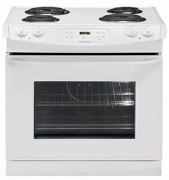 Frigidaire FFED3015LW - 30-in. Drop-In Electric Range-White