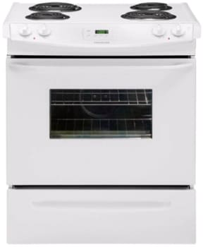 Frigidaire FFES3005LW - 30-in. Slide-In Electric Range-White