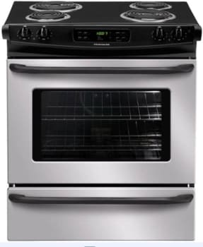 Frigidaire FFES3015LW - 30-in. Slide-In Electric Range-Stainless Steel