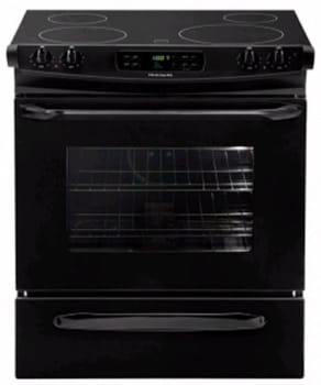 Frigidaire FFES3025LB - 30-in. Slide-In Electric Range-Black