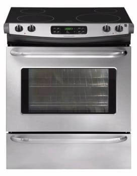 Frigidaire FFES3025LS - 30-in. Slide-In Electric Range-Stainless Steel