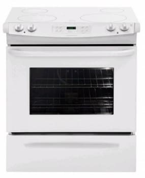 Frigidaire FFES3025LW - 30-in. Slide-In Electric Range-White