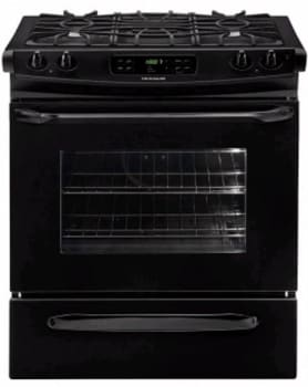 Frigidaire FFGS3025LB - 30-in. Slide-In Gas Range-Black