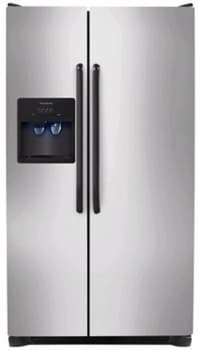 Frigidaire FFHS2611LB - 26 cu. ft. Side by Side Refrigerator-Stainless Steel