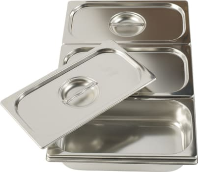 Ilve G00201 - Bain-Marie 3 Stainless Steel Pans