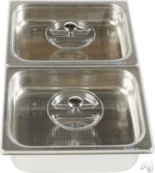 Ilve G00202 - 2 Stainless Steel Compartments