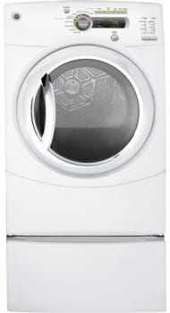 GE GFDN240GLWW - White (Pedestal Sold Separately)