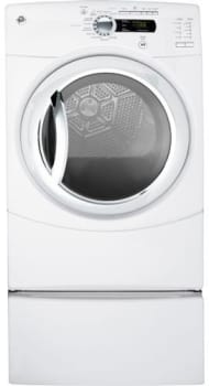 GE GFDS350GLWW - White (Pedestal Sold Separately)