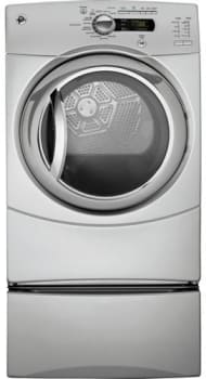 GE GFDS350EL - Metallic Silver (Pedestal Sold Separately)