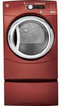 GE GFDS355ELMV - Vermillion Red (Pedestal Sold Separately)