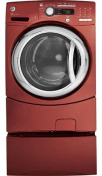 GE GFWS3505LMV - Vermillion Red (Pedestal Sold Separately)