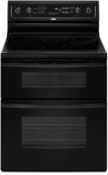Whirlpool Gold GGE388LXB - Black
