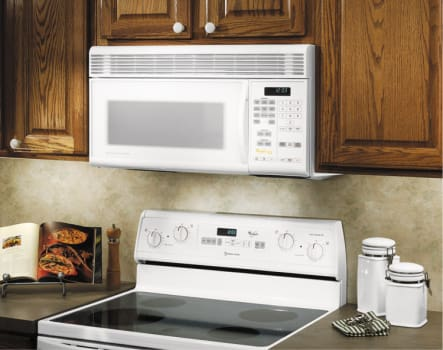 Whirlpool Gh9115xeb 1 1 Cu Ft Over The Range Microwave