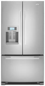 whirlpool gold french door refrigerator. whirlpool gold gi7fvcxwy - monochromatic stainless steel french door refrigerator