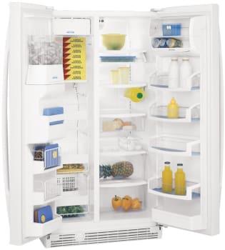 Whirlpool Gold GS6SHEXN - Open Refrigerator