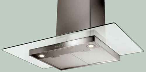Faber Decorative Collection GLAS36SS - Glassy Wall Chimney Hood