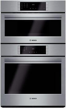 "Bosch 800 Series HBL8751UC - 30"" Speed Combination Oven"