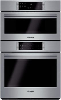 "Bosch Benchmark Series HBLP751UC - 30"" Speed Combination Oven"