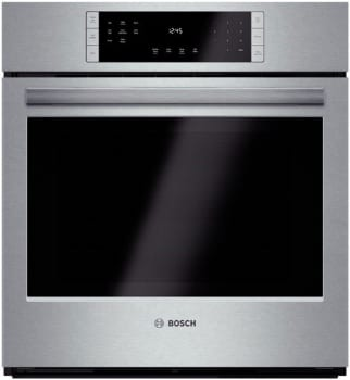 "Bosch 800 Series HBN8451UC - 27"" Single Electric Wall Oven"