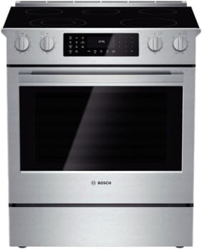 "Bosch 800 Series HEI8054U - 30"" Slide-In Electric Range"