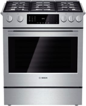 "Bosch Benchmark Series HGIP054UC - 30"" Slide-In Gas Range"