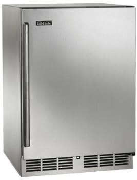 Perlick Signature Series HP24CS1R - Stainless Steel Solid Door with Right Hinge