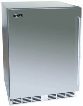Perlick Signature Series HP24WS1L - Solid Stainless Steel Door
