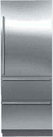 "Sub-Zero IT30R - 30"" All-Refrigerator with Upper Cabinet and Two Lower Drawers (shown with optional Stainless Steel panels)"