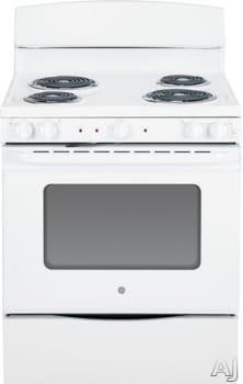 GE JB450DFWW - White