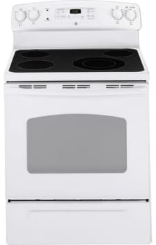 GE CleanDesign JB640DRWW - White