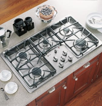 Ge Profile Jgp975s 36 Inch Gas Cooktop